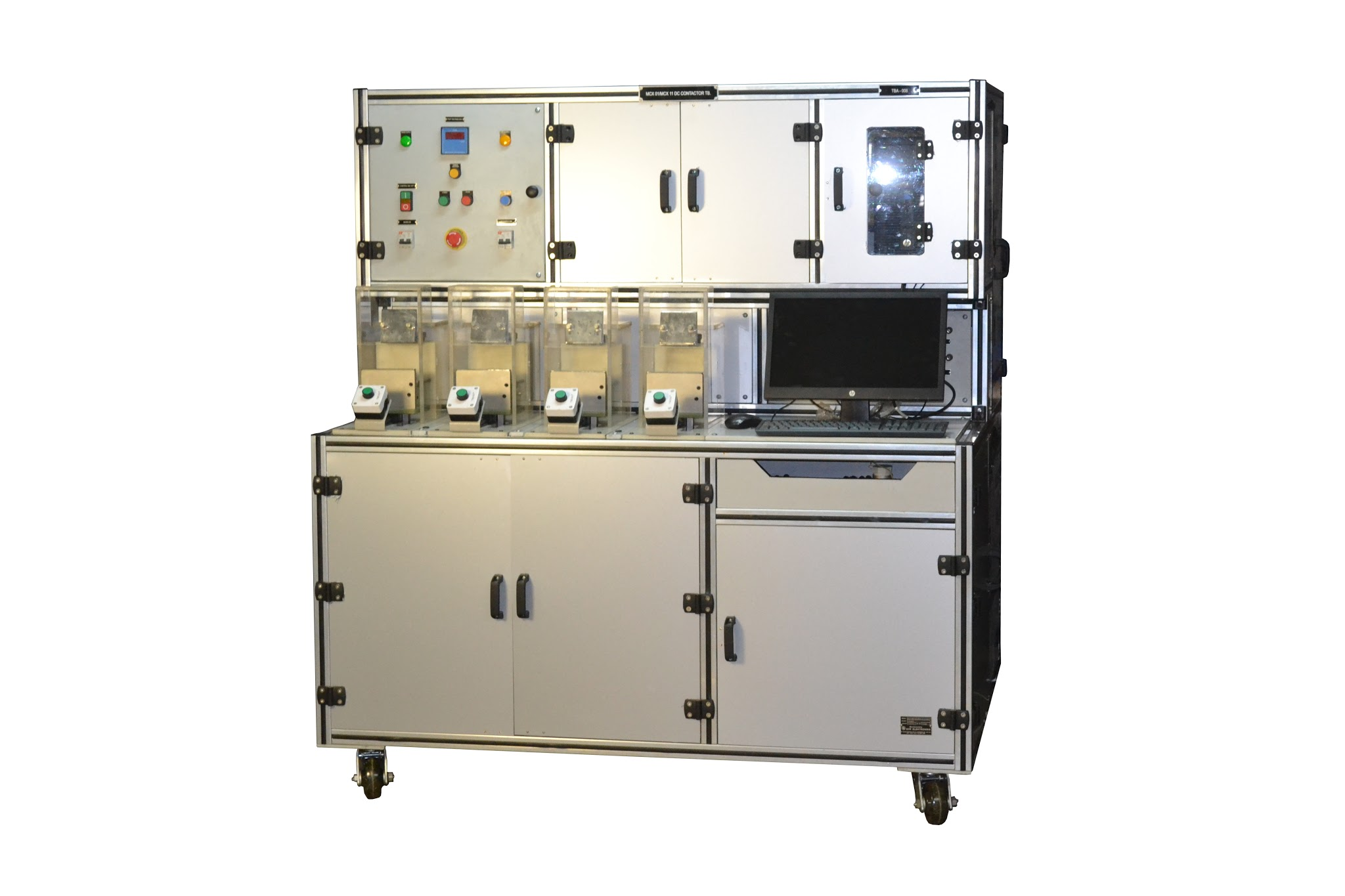 JS-153 4 station Contactor Test Bench L&T